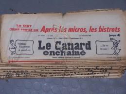 Le Canard Enchaîné - Année 1975 Complète (en Principe) - Política