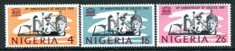 Nigeria 1966 20th Anniversary Of UNESCO Set LHM - Nigeria (1961-...)