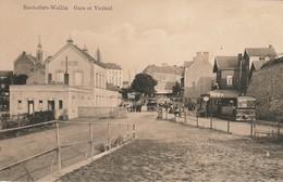 Rochefort WELLIN La Gare Du Train Et Vicinal TRAM - Rochefort