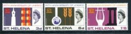 St Helena 1966 20th Anniversary Of UNESCO Set MNH - Saint Helena Island