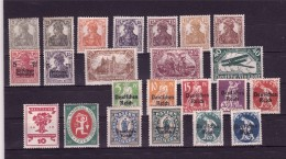 GERMANY 1916-20 Lot Of  Mint  Hinged, Some Defectous - Germany