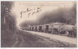 COMPIEGNE GUERRE DE 1914 FORET LES AUTOBUS PARISIENS  CPA BON ÉTAT - Compiegne