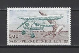 """ST-PIERRE ET MIQUELON . YT PA 69 Neuf ** Le """"Pou-du-Ciel"""" 1990 - Airmail"""