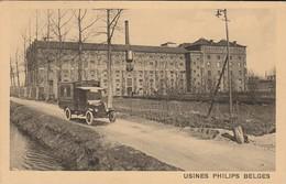 Lessines Usine PHILIPS Belges Lampes Camion De Livraison - Lessines