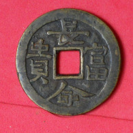 CHINA    - CHARM - TOKEN  BRONZE  27,02 GRS - 42,3 MM     - (Nº16936) - Royal / Of Nobility