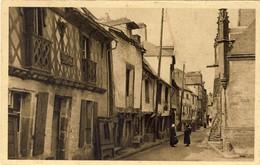 BRETAGNE, JOSSELIN, Vielle Rue, 2 Scans - Bretagne