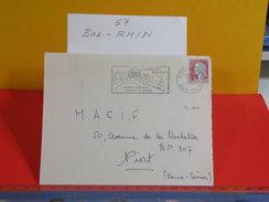 Marcophilie > Flamme > 67 Bas Rhin > Schirmeck - Vallée De La Haute Bruche - 1963 - Marcophilie (Lettres)