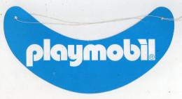 . PLAYMOBIL . VISIERE CARTON PUBLICITAIRE . PLAYMOBIL - Casquettes & Bobs
