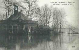 92 CPA PUTEAUX Crue De La Seine Janvier 1910 La Porte Du Bois - Puteaux