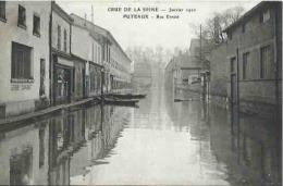 92 CPA PUTEAUX Crue De La Seine Janvier 1910 Rue Ernest - Puteaux