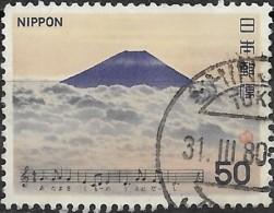 JAPAN 1980 Japanese Songs - 50y  Mount Fuji (anon)  FU - 1926-89 Empereur Hirohito (Ere Showa)