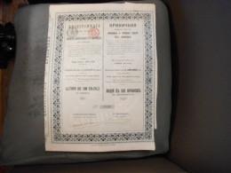 """Action""""Produits Réfractaires Et Céramiques Du Donetz""""Seilles 1912 N°2708. - Russie"""