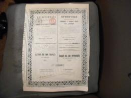 """Action""""Produits Réfractaires Et Céramiques Du Donetz""""Seilles 1912 N°2709. - Russie"""