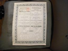 """Action""""Produits Réfractaires Et Céramiques Du Donetz""""Seilles 1897 N°0289. - Russie"""