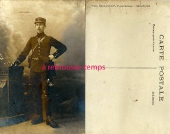 Carte Photo -gendarme? 60e Régiment-photographe Alfred D'Hoop 17 Rue Battant à Besançon - Guerre, Militaire