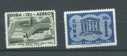 Cuba - Aérien   -   - Yvert N° 193  Et  194 **  - Cw3401 - Poste Aérienne
