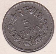 F336-2 5 FRANCS LAVRILLIER 1933 - J. 5 Francs