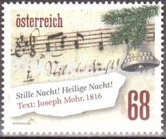 Austria Österreich 2016 Weihnachten (III) Stille Nacht   MNH / ** / POSTFRISCH - 2011-... Unused Stamps