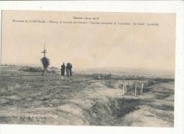 CHAMP DE BATAILLE DE FRESCATI TOMBES FRANCAISES ET TRANCHEES CPA BON ETAT - Guerre 1914-18