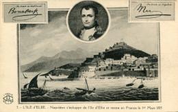 NAPOLEON(ILE D ELBE) - Histoire