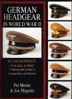 German Headgear In World War II, SS NSDAP Police Civilian Misc A Photographic Study Of Hats, Helmets, 140 Seiten Auf DVD - Germania