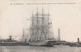 DUNKERQUE  NORD   59  CPA   4 MATS DE LA MAISON BORDES - Dunkerque