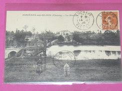 ASNIERES SUR BLOUR / ARDT MONTMORILLON   1910   LE MOULIN      EDIT CIRC NON - Other Municipalities