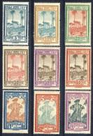 Guyane Tasse 1929 Serie N. 13-21 MLH Catalogo € 12,50 - Neufs