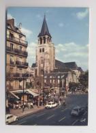 PARIS - Quartier St Germain Des Prés - Café Aux Deux Magots - Paris - Voitures DS Coccinelle - Automobiles - Animée - Distretto: 06