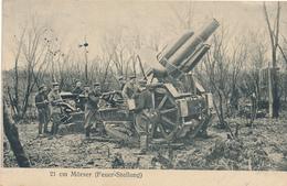 Feldpost - 1916 , 21 Cm Mörser (Feuer-Stellung) - Ausrüstung