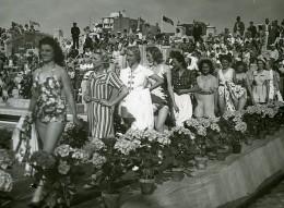 France Le Touquet Concours De Maillots De Bains Ancienne Photo Pecceu 1938 - Lugares