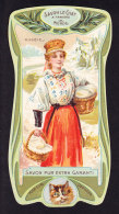 CHROMO Savon Le Chat A Travers Le Monde La Russie Russia Calendrier 1906 1907 Goossens Art Nouveau - Chocolate
