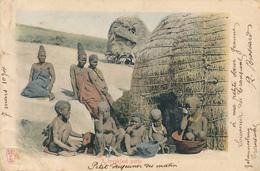 TRANSVAAL - Johannesburg - 1904 , Breakfast , Frühstück - Links Randschaden - Südafrika