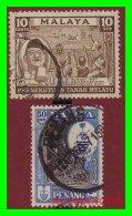 MALAYA  (  MALASIA  ASIA  )  SELLOS AÑOS 1957-60 - Malaysia (1964-...)