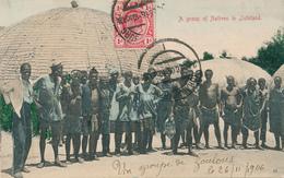 TRANSVAAL - Johannesburg - 1906 , A Group Of Natives InZululand , Gruppe Von Eingeborenen Im Zululand - Südafrika
