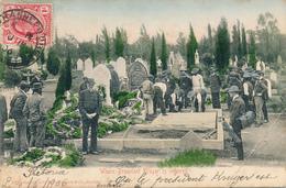 TRANSVAAL - Johannesburg - 1906 , Where President Kruger Is Interred , Beisetzung Von Paul Krüger  - Rechts Knick - Südafrika