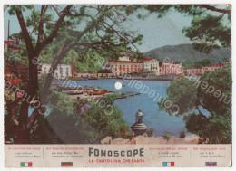 ISOLA D' SCHIA - IL PORTICCIUOLO - CARTOLINA DISCO 45 GIRI VIAGGIATA 1957 - SCAPRICCIATIELLO - CANTA TEDDY RENO - Napoli