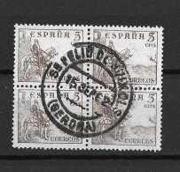 LOTE 1015   ///   ESPAÑA AÑO 1949  -  EDIFIL Nº:  1044  CON MATASELLO DE  SAN FELIU DE GUIXOLS (GERONA) - 1931-Heute: 2. Rep. - ... Juan Carlos I