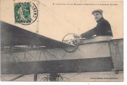 AVIATEUR - M. LABOUCHERE Sur Son MONOPLAN ANTOINETTE à Son Poste De Direction - Aviatori