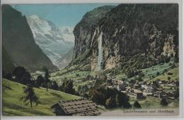 Lauterbrunnen Und Staubbach - Photo: R. Gabler No. 1021 - BE Bern