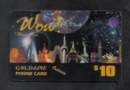 CANADA - (  GOLD LANE  $10 )   PHONECARD 1990s - Canada