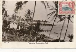 KENIA , UGANDA , TANGANYIKA - KILINDINI  -  1935 , Mombasa Swimming Club - Kenia