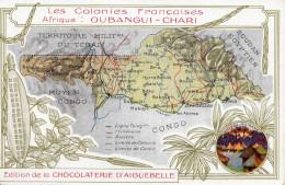 OUBANGUI - CHARI (Colonies Francaises), Edit Chocolaterie D'Aiguebelle, 1910? - Ansichtskarten