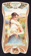 CHROMO Savon Le Chat A Travers Le Monde La Hongrie Calendrier 1906 1907 Goossens Art Nouveau - Chocolat