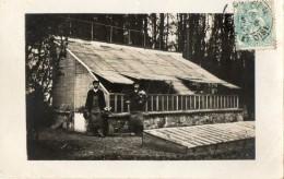 CPA Photo. CORBEIL. Une Serre, Jardiniers. 1907. Voir Scan Du Verso. - Corbeil Essonnes