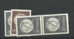 1954 MNH Sweden, Sverige, Postfris