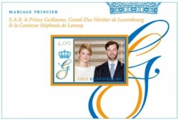 Luxembourg 2012 Mih. 1954 (Bl.30) Royal Wedding MNH **