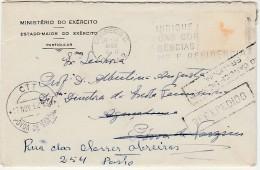 Cover :: 1962 :: Ministério Do Exército :: Estado-Maior Do Exército :: Reexpedido :: Lisboa»Póvoa De Varzim»Porto - Reclame