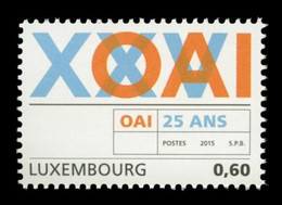 Luxembourg 2015 Mih. 2032 Association Of Architects And Consulting Engineers MNH **