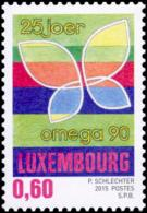 Luxembourg 2015 Mih. 2033 Omega 90 Palliative Care Foundation MNH **